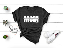 Load image into Gallery viewer, Mom tee customized with your kids names - Ladies Tee