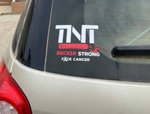 Load image into Gallery viewer, TNT BECKER STRONG VEHICLE DECAL
