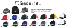 Load image into Gallery viewer, Beach Please- Snapback hat- multiple colour options