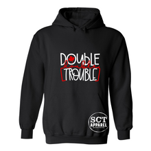 Load image into Gallery viewer, Double Double Trouble - Unisex hoodie