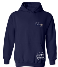 Load image into Gallery viewer, Katepwa Lake with one paddle (upper left chest) design- Unisex hoodie