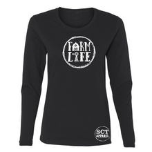 Load image into Gallery viewer, Farm Life- Ladies Long Sleeve Tee