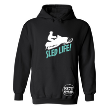 Load image into Gallery viewer, Sled Life - Unisex hoodie