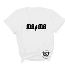 Load image into Gallery viewer, Mama ACDC - Ladies tee