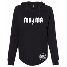Load image into Gallery viewer, Mama ACDC - Ladies hooded pullover