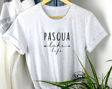 Load image into Gallery viewer, Pasqua Lake Life Script - Unisex Tee
