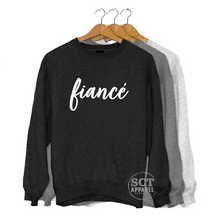 Load image into Gallery viewer, Fiancé - Unisex crewneck sweater