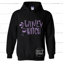 Load image into Gallery viewer, Winey Bitch - Unisex hoodie
