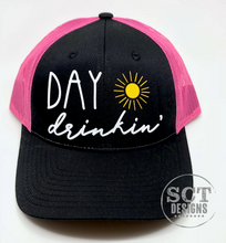 Load image into Gallery viewer, Day Drinkin' - Snapback hat- multiple colour options