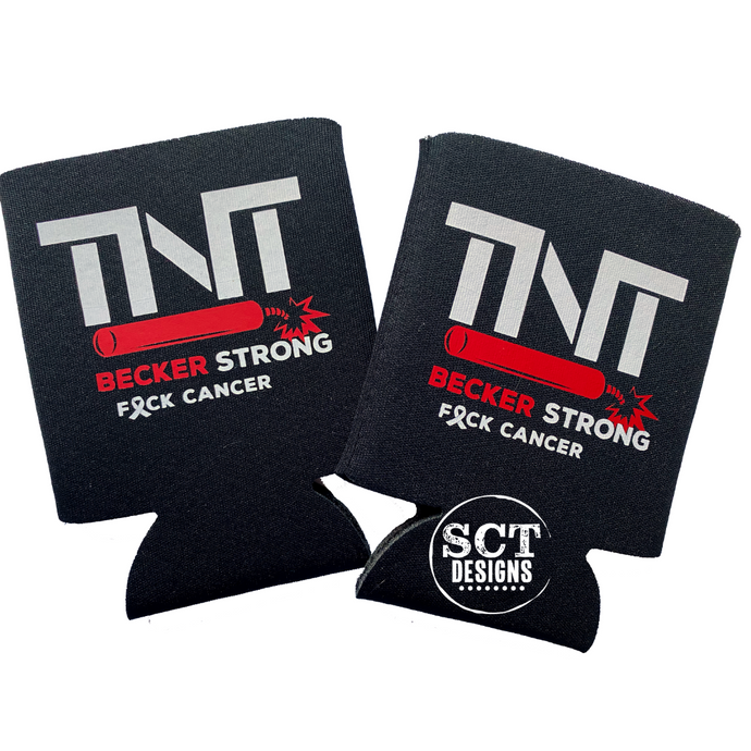 TNT BECKER STRONG CAN COOZIE