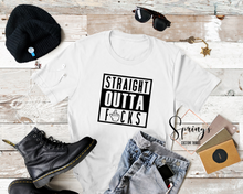 Load image into Gallery viewer, Straight Outta Fucks - Unisex tee