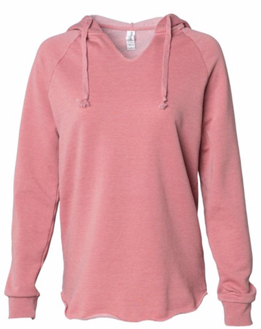 NOPE NOT TODAY HOODED PULLOVER - LADIES
