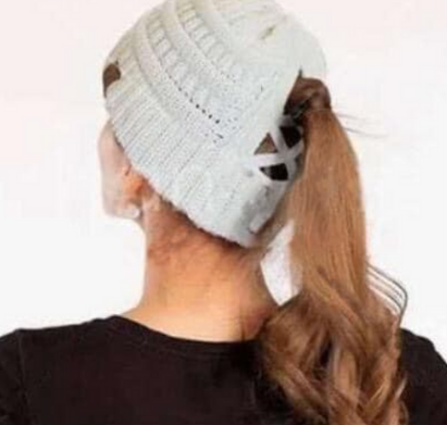 Criss Cross Toques - multiple colour options