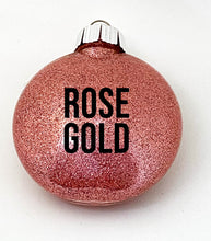 Load image into Gallery viewer, Best Teacher Ever ornaments - glitter ornament - multiple colours available