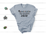 SENIORS THE ONE WHERE THEY GRADUATE 2021 TEE - UNISEX