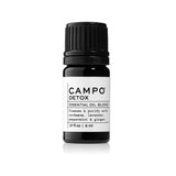 Campo Beauty DETOX Blend 5 ml Essential Oil. Help eliminate toxins naturally with this 100% natural essential oil blend of Cardamom, Lavender, Peppermint & Ginger.