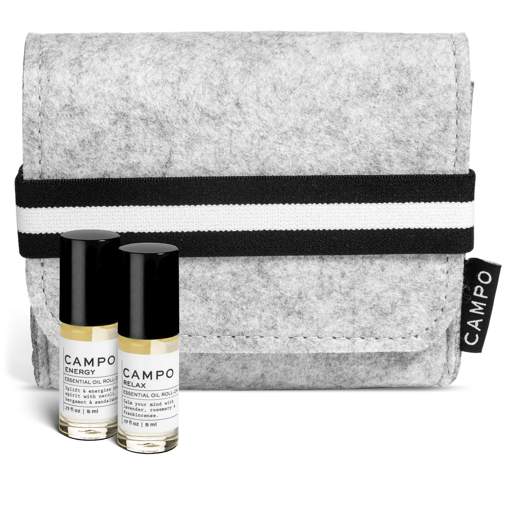 Essential Oil Roll-On Kit - ENERGY + RELAX Blends