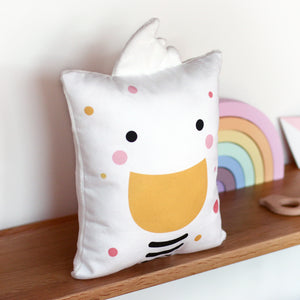 Ducky Cushion for Kids Closeup