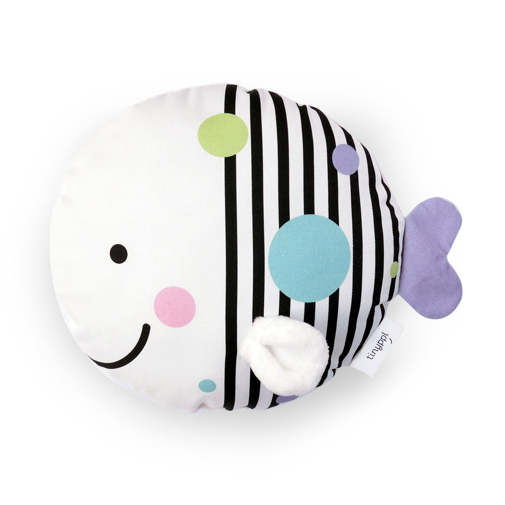 Fish Baby Cushion by Tinyppl
