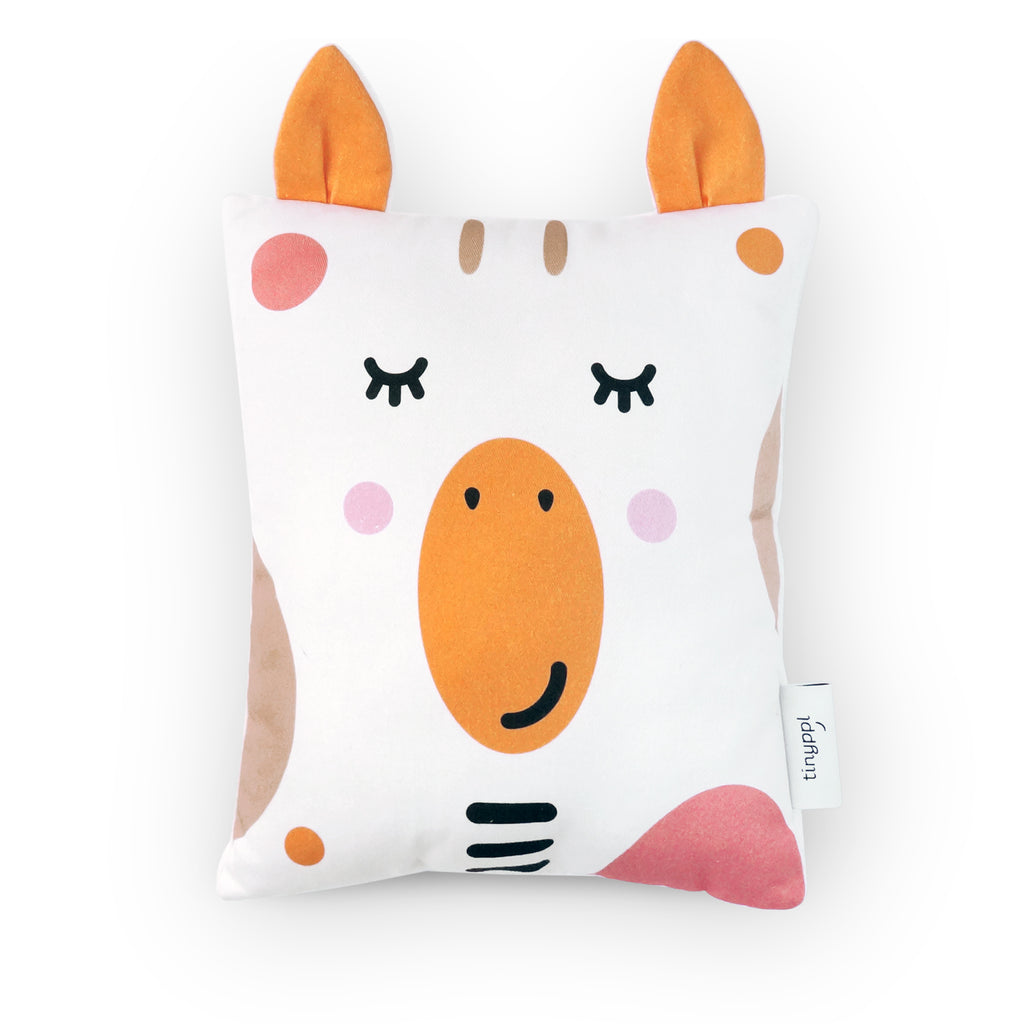 Giraffe Baby Cushion by Tinyppl