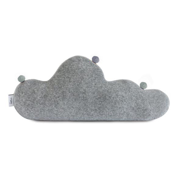 Nursery Cloud Cushion with Pom Poms
