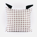Organic Cotton Scandi Owl Cushion for Kids Room