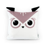 Organic Cotton Owl Cushion for Kids