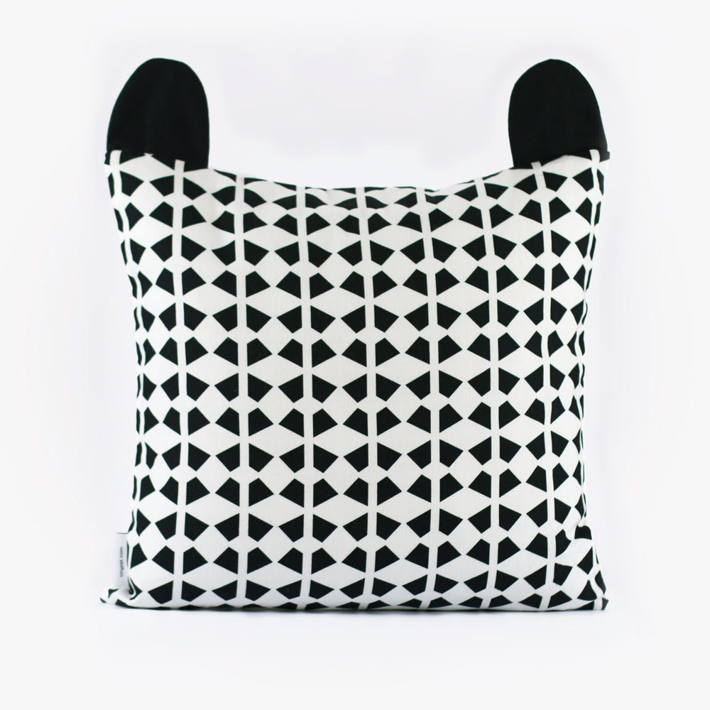 cheeky racoon organic cotton cushion cover u2013 tinyppl