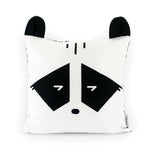 Monochrome Organic Cotton Nursery Cushion