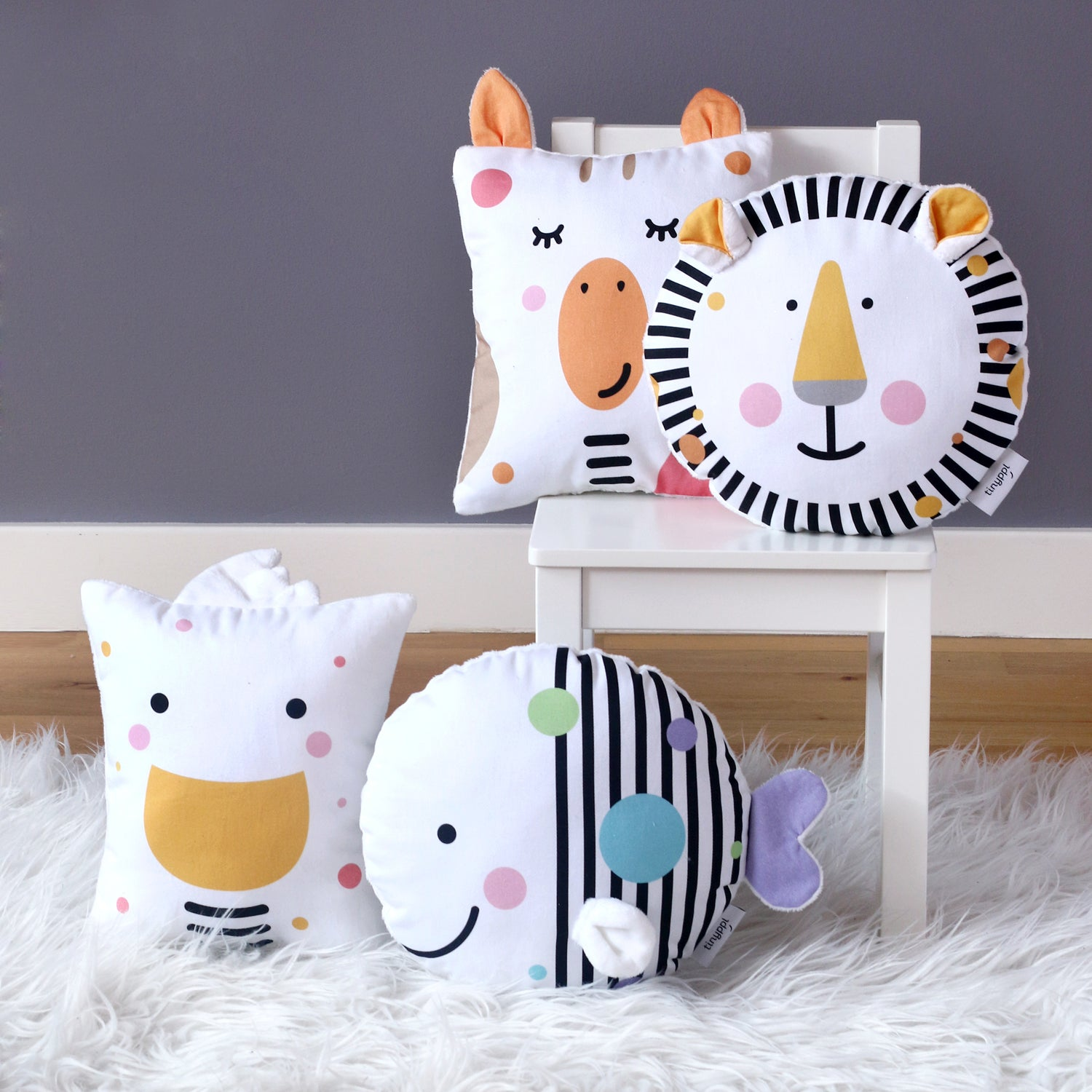 Cute kids cushions