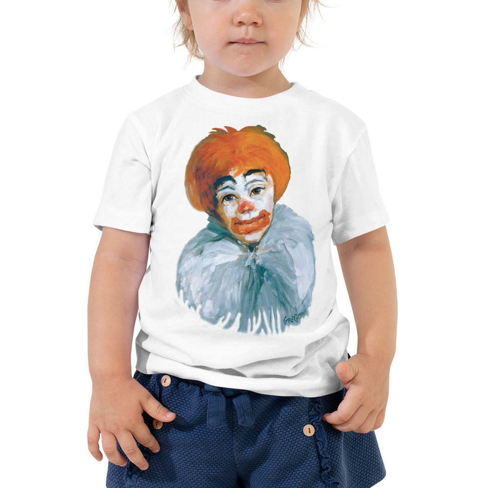 Clown Toddler Short Sleeve Tee