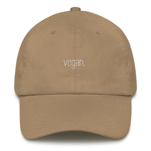 vegan hat.