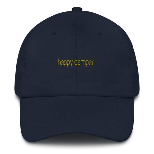 happy camper hat.