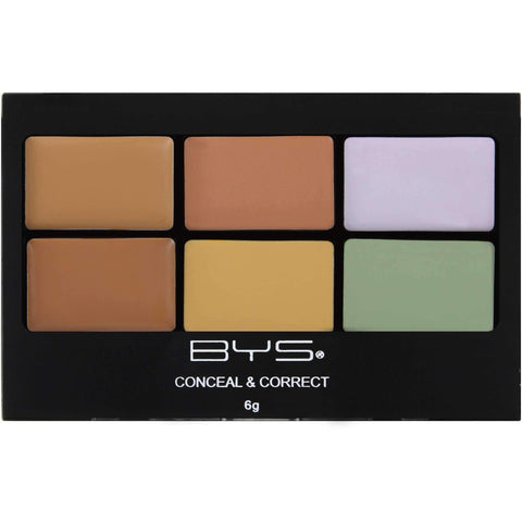 BYS:Conceal & Correct Palette Camouflage,Conceal & Correct Palette