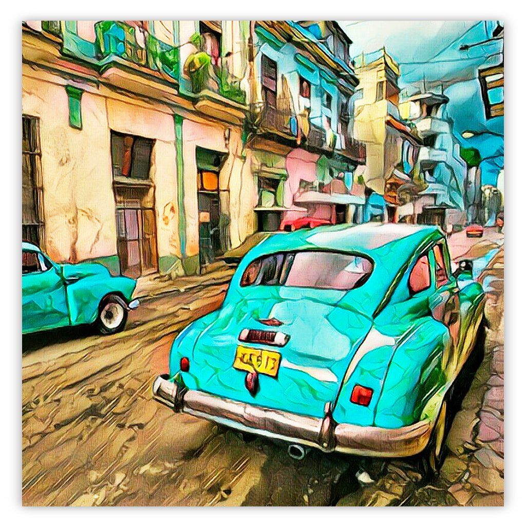 Classic Cuban Antique Cars Series 1