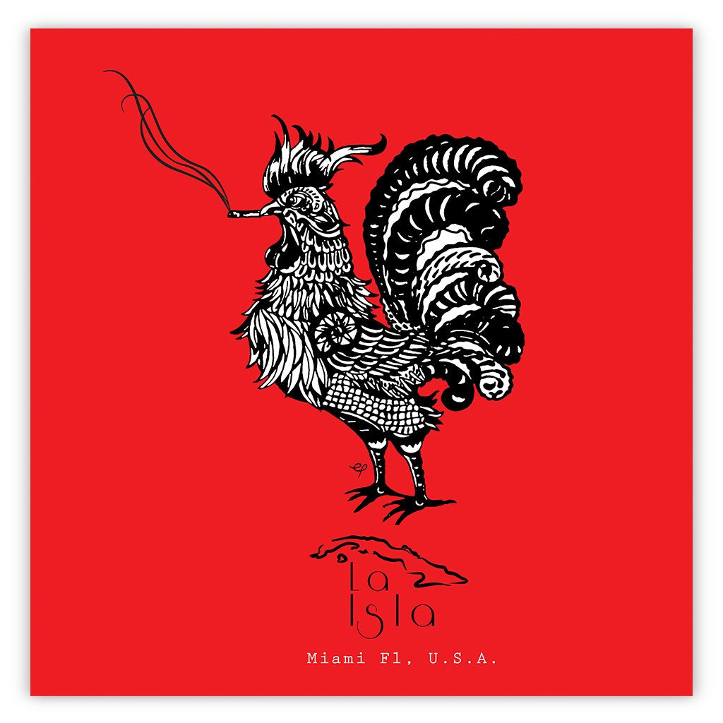 Smoking  Rooster