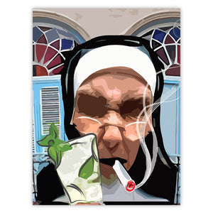 Cuban Nun Poster