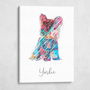 Color Wire Decorative Yorkie Dos