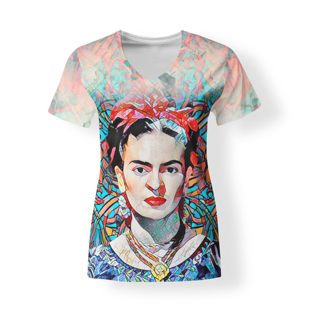 Mosaic Frida Women's V-neck