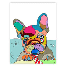 Frenchy Pup Cut Out