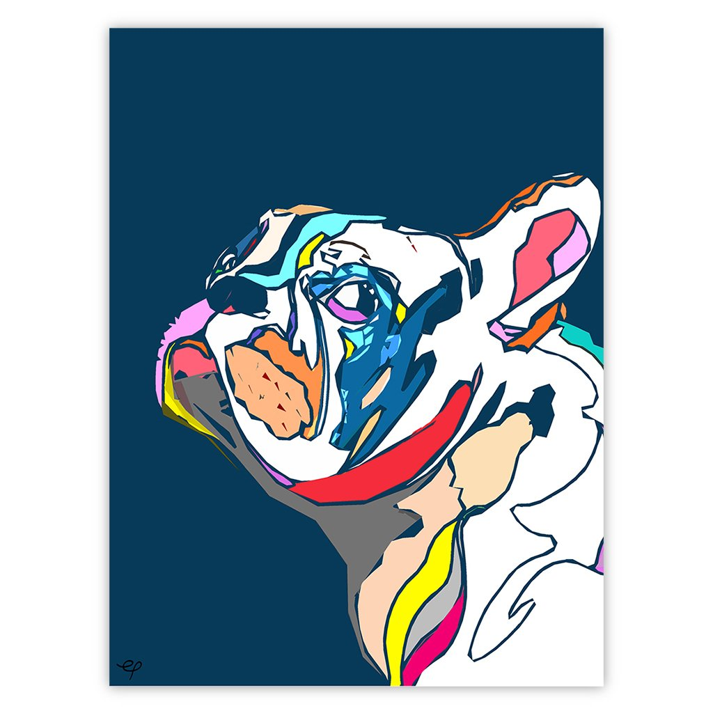 Frenchy Bulldog Cut Out