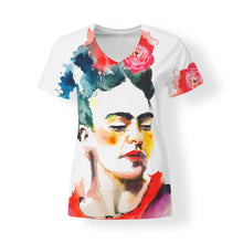 3/4 View Frida Women's V-neck