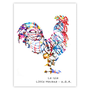 Abstract Rooster 2