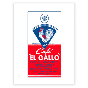 Cafe El Gallo (Red-Blue)