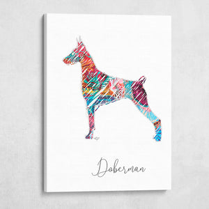 Color Wire Doberman