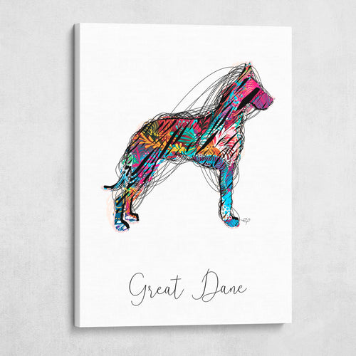 Color Wire Great Dane