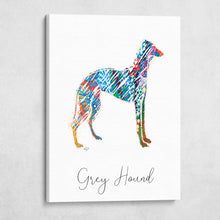 Color Wire Greyhound