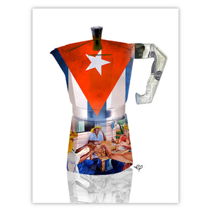 Cuban Flag Cafetera