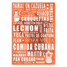 Cuban Coffee Menu Tangerine