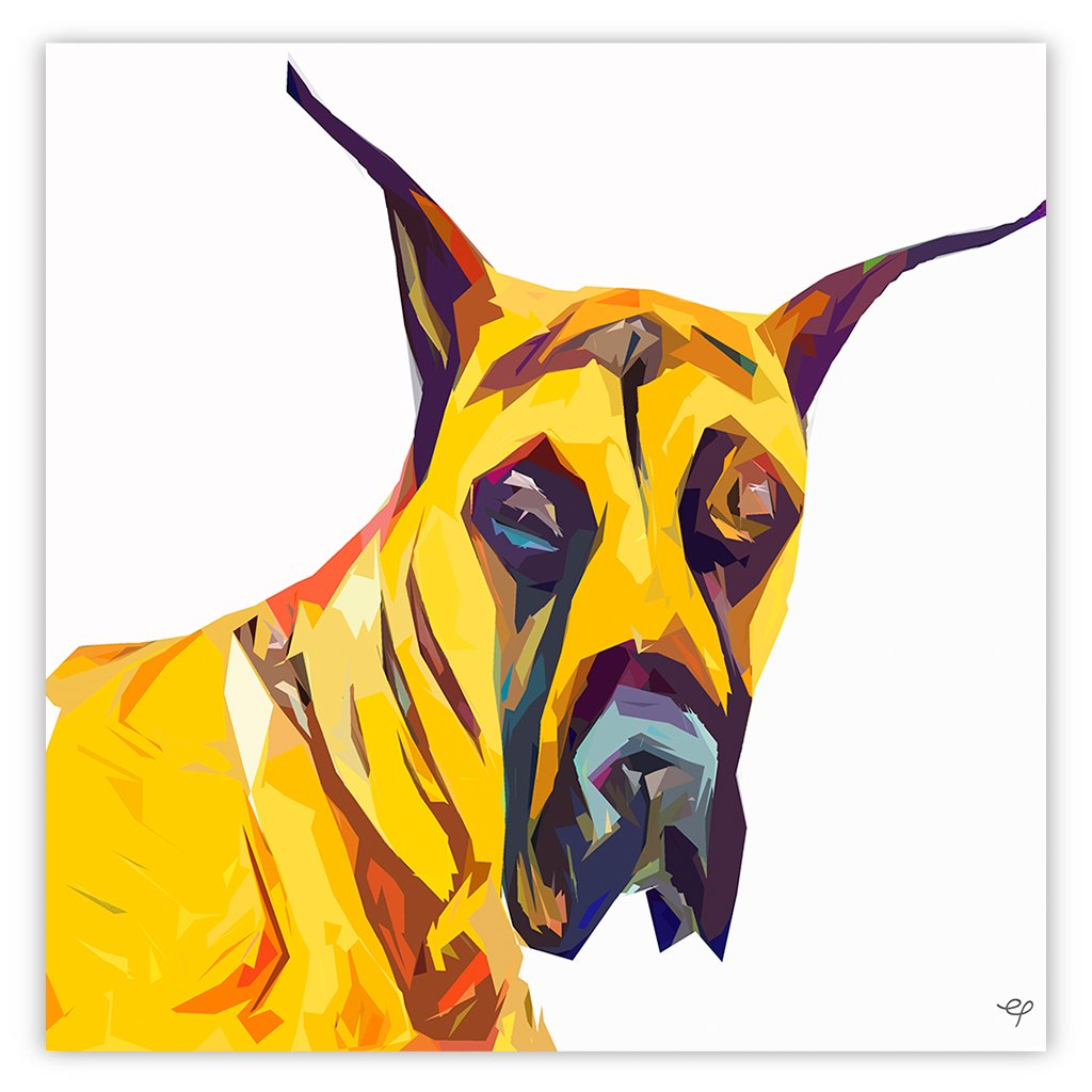 Great Dane Abstract